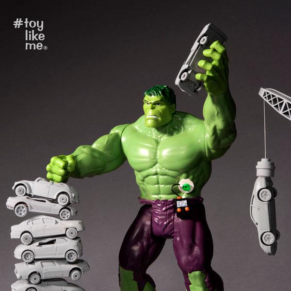 Toy like me incredible hulk