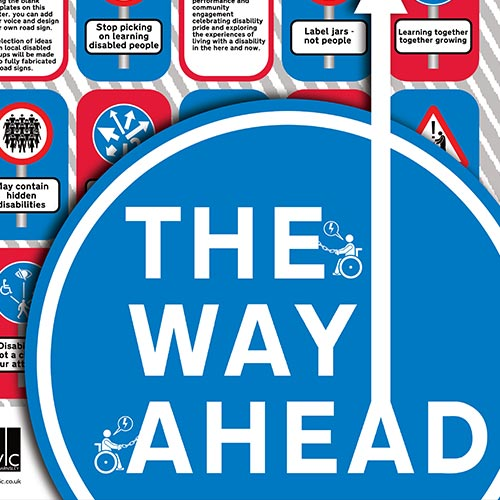 June 2021 - the way ahead exhibition graphic